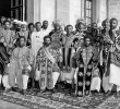 Abyssinia / Ethiopia – Haile Selassie With Warriors (1930-1939)