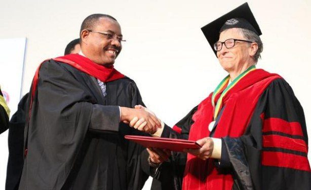 Bill Gates Receives Honorary Degree from Ethiopia's Addis Ababa University