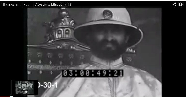 VIDEO: Experience Ancient Ethiopia, Abyssinia Silent Reel 1-3