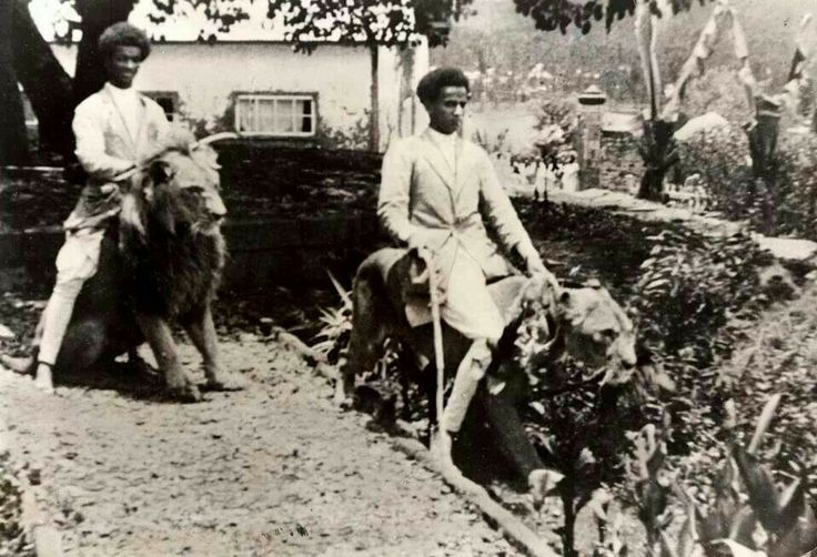 Ethiopians Riding Lions, Featuring Royal Black Lion Monarchy (Our Glory)