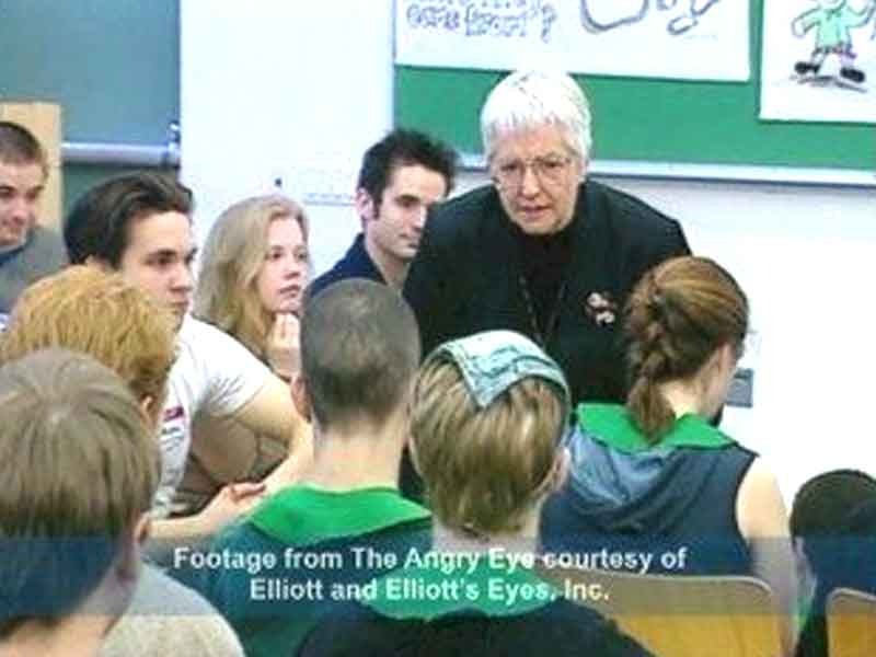 jane elliott teaches exercise against racism essay Chapter 18 class divided worksheet class_divided_worksheetdoc 12th grade period 1 (ap physchology) ap in the last part of a class divided, frontline's cameras follow jane elliott as.