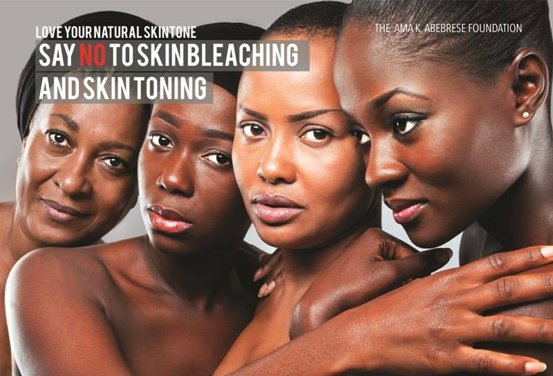 "Billboards in Ghana – Bold Campaign by Ama K. Abebrese ""No to Skin Bleaching"""