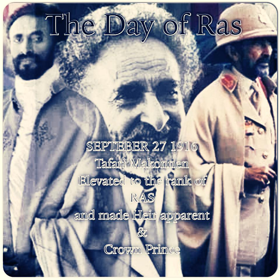 RasTafari Mesqel Alignment of The Finding of The True Cross, The Elevation of Dejazmatch Tafari, Shabbat Shuwb and Tz'om Gedaliah