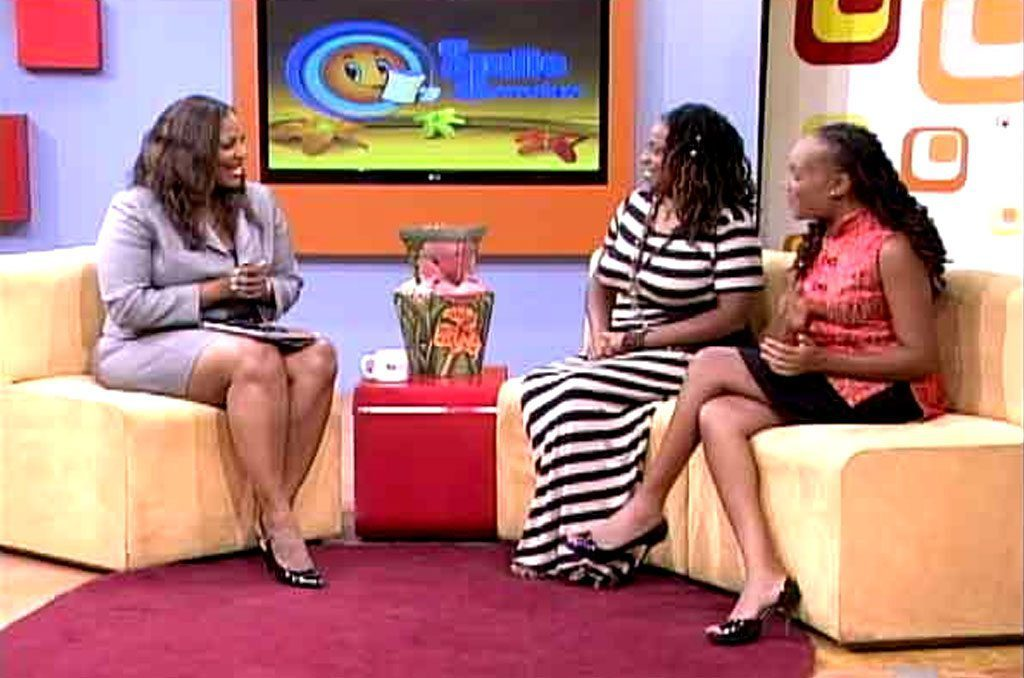 TVJ Smile Jamaica features Rastafari TV Network with Fanaye SunLight-Selassie and Andrea John Baptiste
