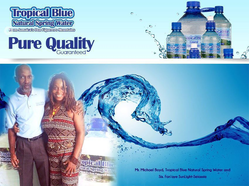 Our Sponsor: Tropical Blue Natural Spring Water Is Here