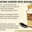 Combating Cancer With Baking Soda  & Surviving Radiation
