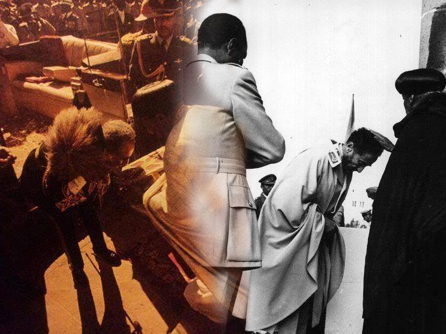 haile-selassie-kisses-bible-blessed-by-priests