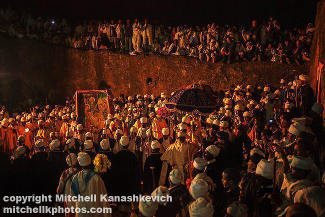 Crowds-celebrating-Orthodox-Christmas-in-Lalibela-Ethiopia