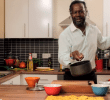 """Cookery for Students"" – Levi Roots – The Dragon Slayer Cooking up Reggae Reggae Rasta Pasta"
