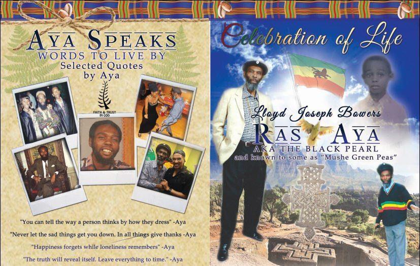 """Memorial: Ras Aya – Lloyd Joseph Bowers AKA """"The Black Pearl"""""""