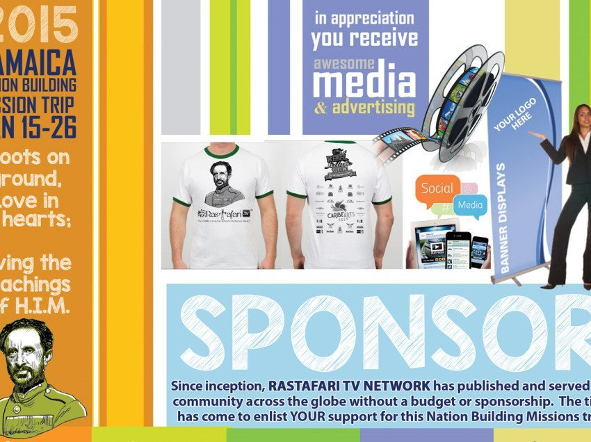 Sponsor RTV Nation Building Mission to Jamaica Jan. 15-26, in Appreciation Receive an Awesome Media & Advertising Package