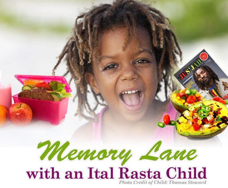 Memory Lane: with a Rasta Child