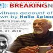 Eye witness account of  love shown by Haile Selassie I - Ato Taffara Deguefe - January 31, 2015