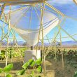 Dew collecting greenhouse to fight water and food scarcity in Ethiopia