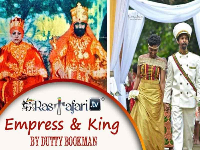 Empress & King – Tribute to feminine energy & H.I.M. Haile Selassie I's matrimonial balance