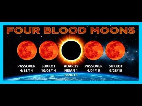 Lunar Eclipse  April 4th 2015 Passover, 3rd Blood Moon TETRAD Bible Prophecy