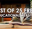 25 Awesome Sites For Free Online Education
