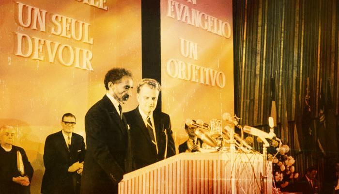1966, Oct. 26 – Berlin World Congress on Evangelism, H.I.M. Haile Selassie I Speech