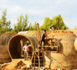 Footloose German kid builds an inspiring brick dome home for an orphanage in Kenya