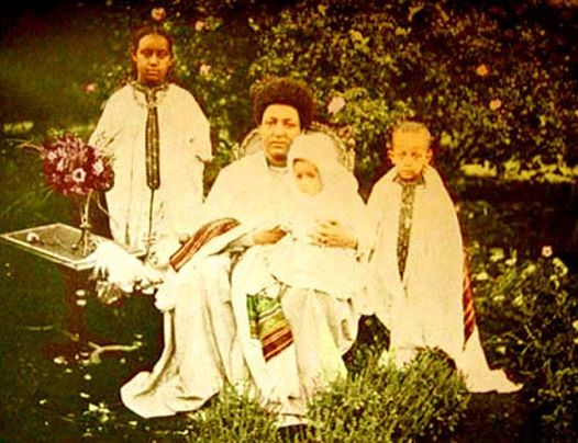 empress menen and children
