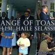Both Toasts from JFK to Emperor Haile Selassie, Luncheon, Rockville, Maryland. Oct. 2, 1963