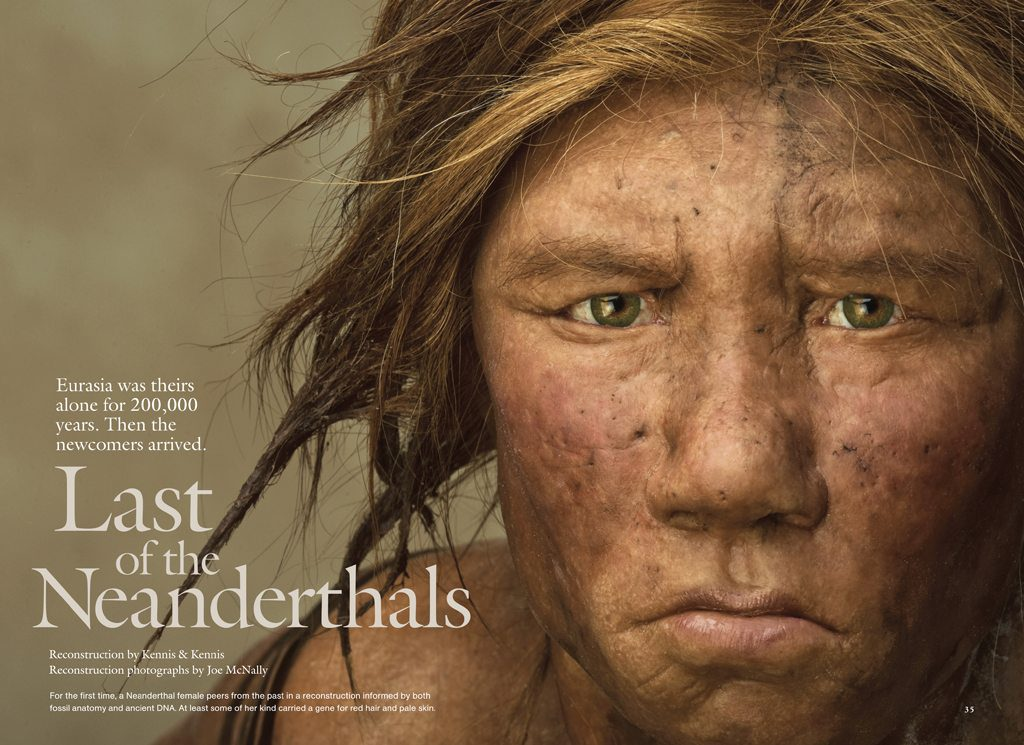 Neanderthals MM7589;81.indd Genetic Fact: People born in Africa are 100% Pure Human, the rest has some Neanderthal blood