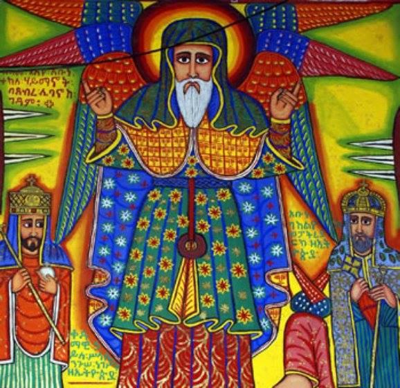 1962, Nov. 18:  H.I.M. Haile Selassie's Dedication of the Debre Libanos Church