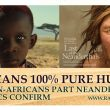 Genetic Fact: People born in Africa are 100% Pure Human, the rest has some Neanderthal blood