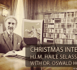 Full Speech & Dub | H.I.M. Haile Selassie I Christmas Interview 1968 with Dr. Oswald Hoffman