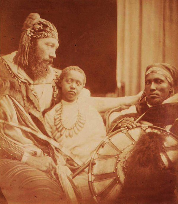 Prince Alemayehu and Tewodros3