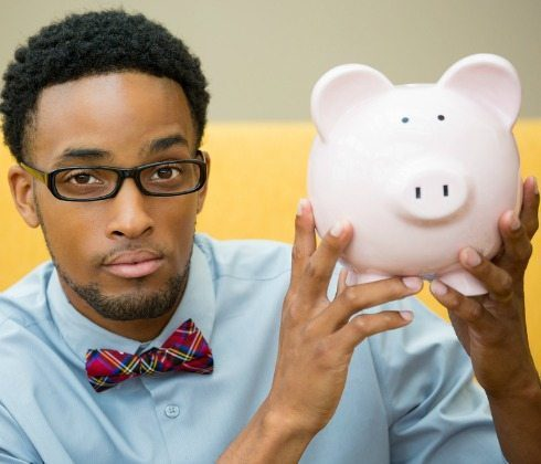 Black-man-piggy-bank-money
