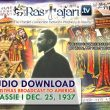 FREE Audio Download:  Dec. 25, 1937 SPECIAL: A Christmas Broadcast to America - Message from H.I.M. Haile Selassie First, Emperor of Ethiopia