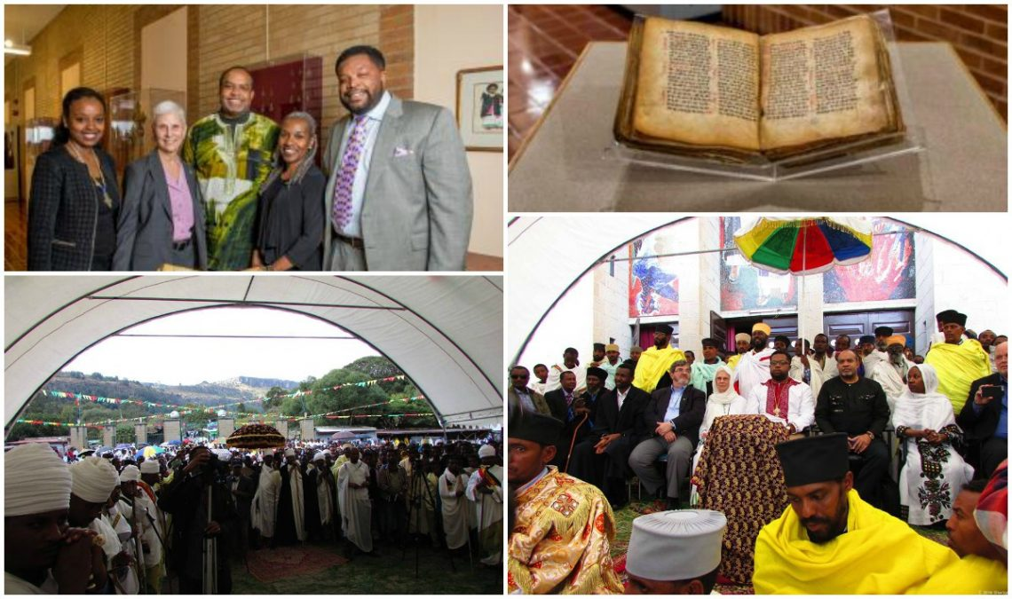 Howard University School of Divinity travels to Addis Ababa, Ethiopia, to return  sacred manuscript