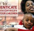 How to Authenticate Your Birth Certificate & OWN Your children!