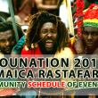JA Grounation 2016 Rastafari Community Schedule of Events