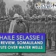 1935, H.I.M. Haile Selassie I attends military review, Addis Ababa