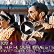 1955, Nov. 4: 25th Anniversary of the Coronation of Haile Selassie I & Empress Menen