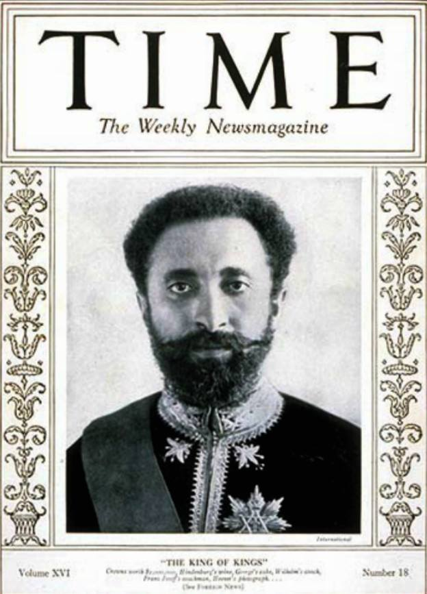 Quick Facts: Haile Selassie I Time Magazine Quote, His Coronation