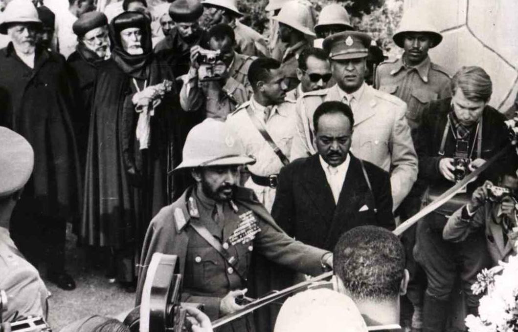 H.I.M. lobbied to unify Eritrea with Ethiopia from under British rule