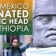 Mexico Supported Ethiopia in Italian War, Donated Replica of Olmec Head