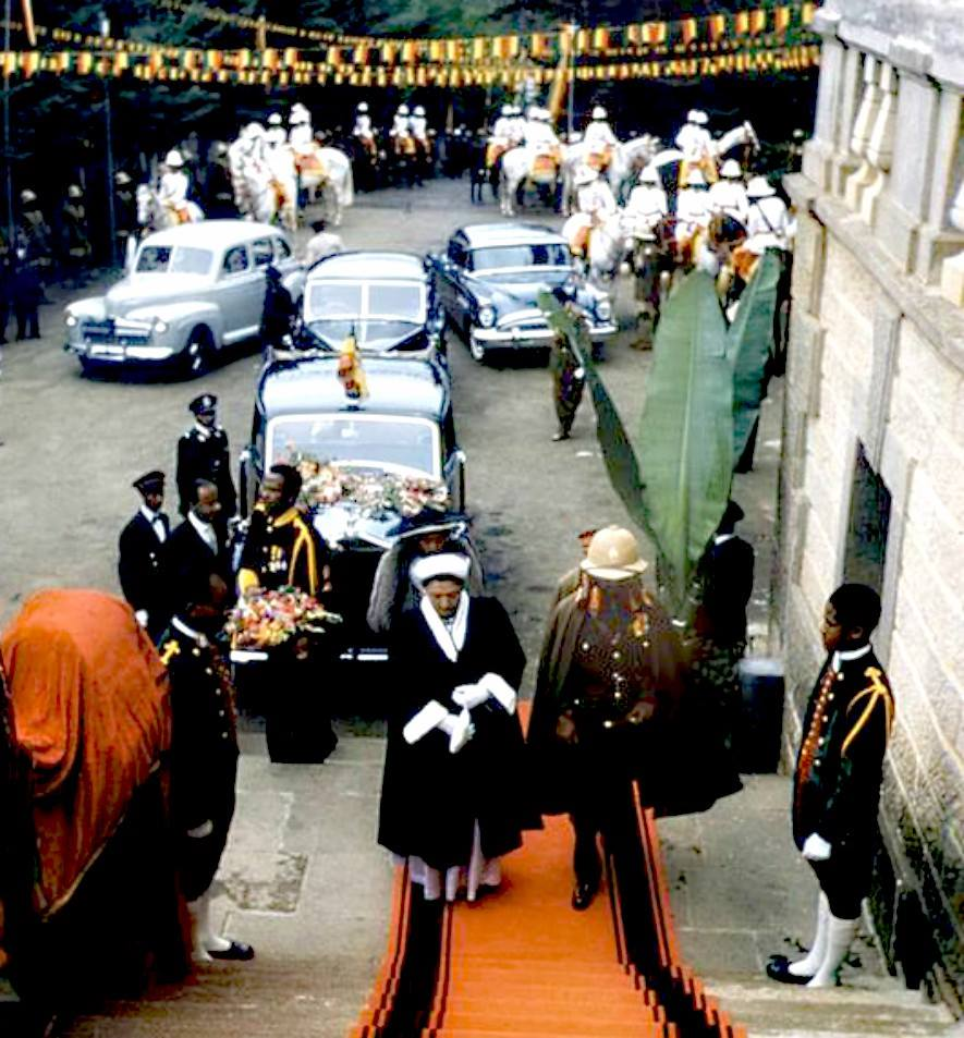 Haile Selassie Speech:  Call for meeting of churches who belong to same fold