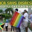 Rainbow flag flies outside US Embassy in Jamaica, AG says 'disrespectful'