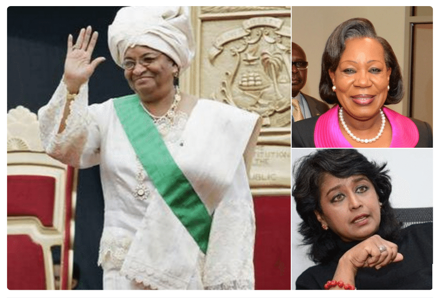 Africa has 3 female heads of state