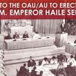 Call for Emperor Haile Selassie's statue to be erected outside OAU and those who object