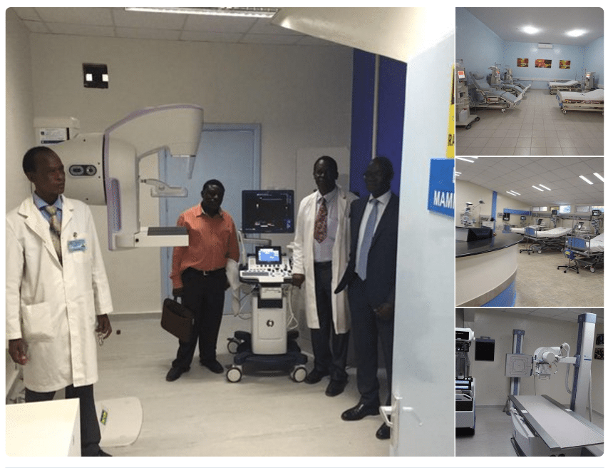 Transformation of government hospitals in Kenya
