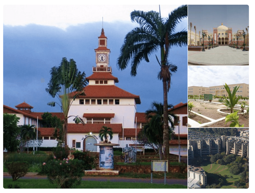 Various University Campuses in Africa
