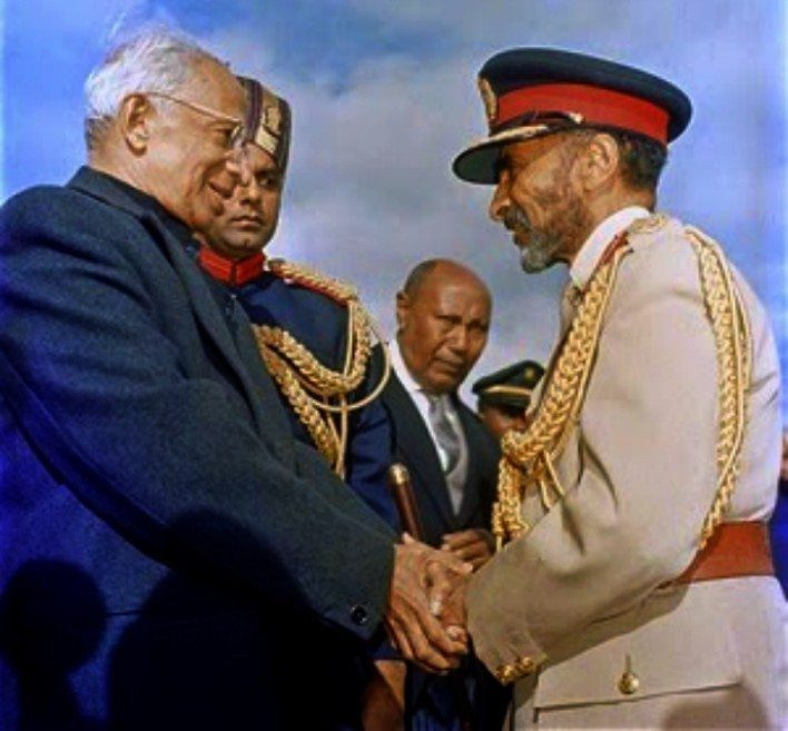 Emperor Haile Selassie I Awards Dr. Sarvepalli Radhakrishnan With Honorary Degree