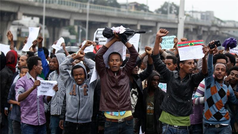 ethiopian protests oromo killed