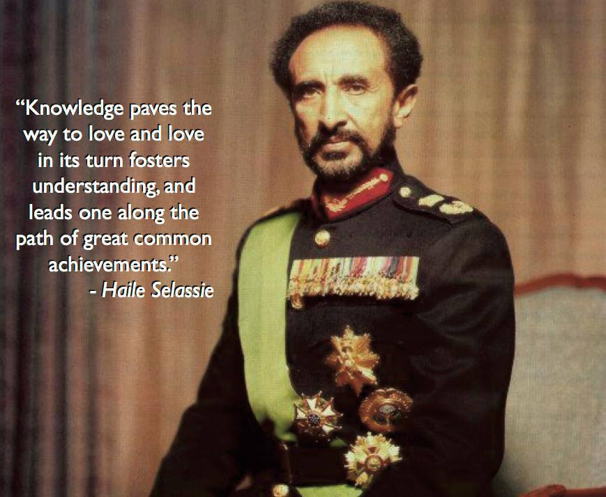 Haile Selassie I Quote: Discipline of the mind is basic ingredient of general morality