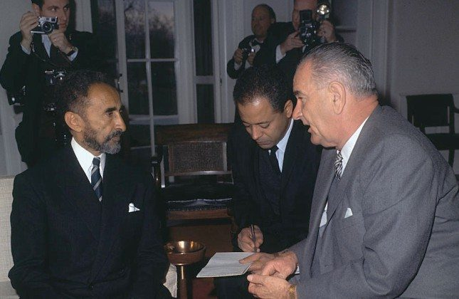 Emperor Haile Selassie's Advice |  President Johnson